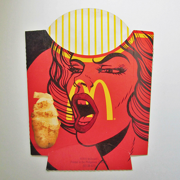 Modern Pop Art Style Apartment: McDonald's Fries Box Art By Camille Junio On Behance