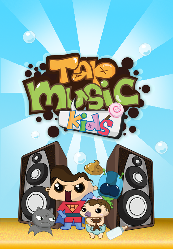 Portfolio Tap Music Kid iPhone App