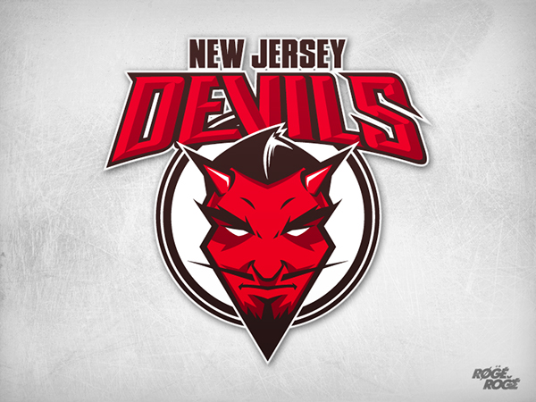 ... art only. This logo is not an official mark of New Jersey DEVILS