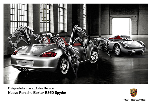 Porsche Boxster Rs60 Spyder On Behance