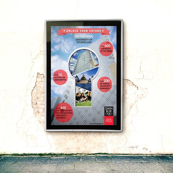 Постер для университета