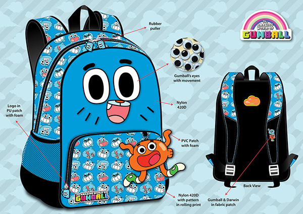 Backpacks Cartoon Network on Behance