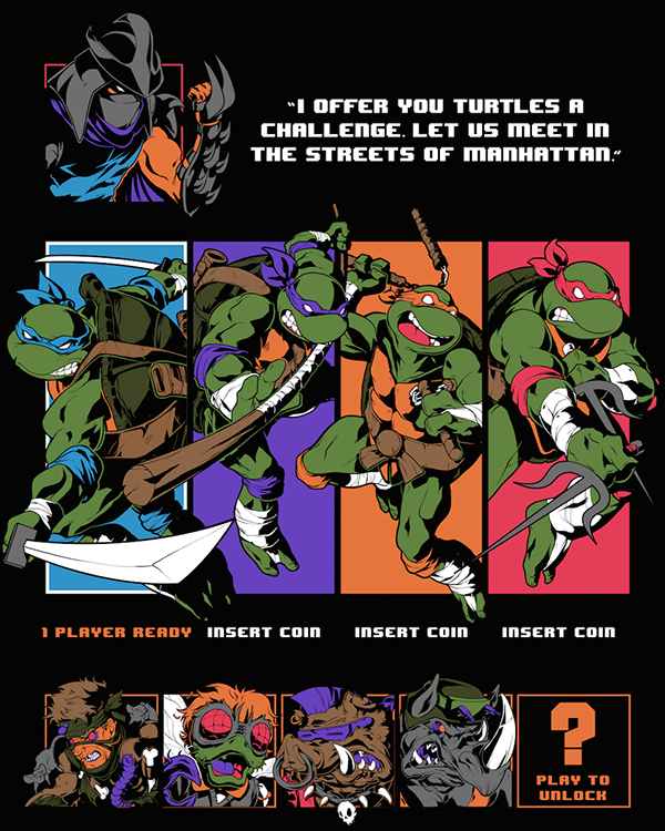 ELECTRIC ZOMBIE - TMNT by Michael Anderson