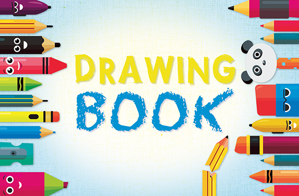 Book Cover Design Drawing ~ Childrens drawing book cover on behance