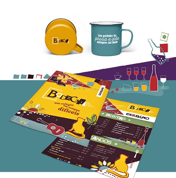 Branding | BODEGA - Bar, arte e cultura