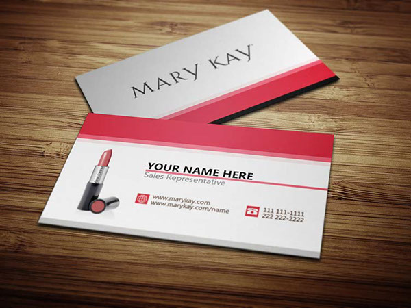 Mary Kay Business Cards on Behance