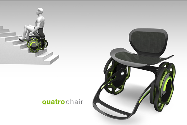 Quatro chair on Behance