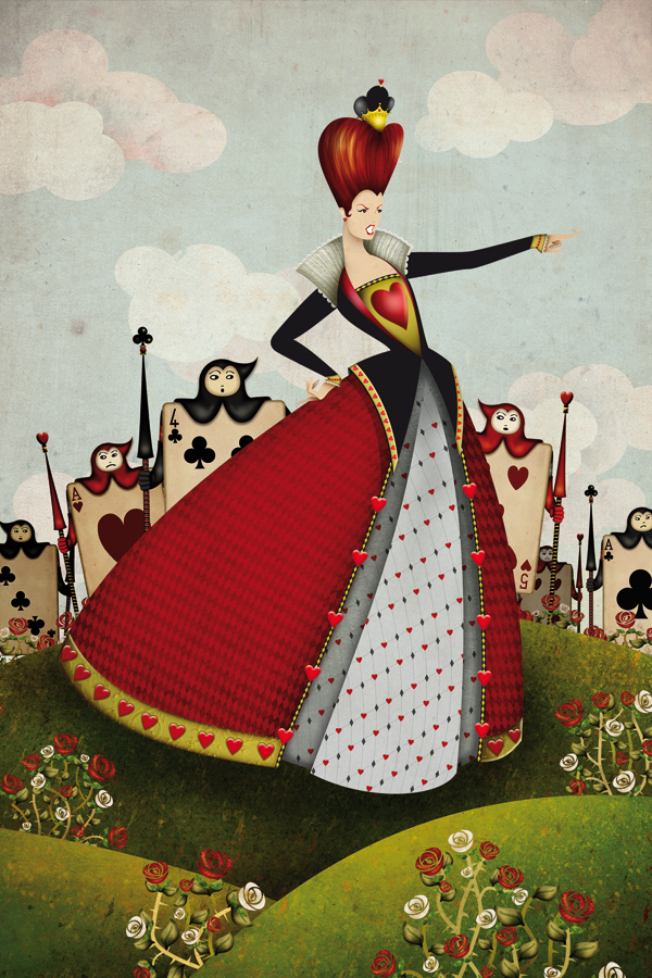 Queen Of Hearts And The Card Soldiers On Behance