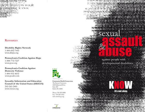 Sexual Assault Awareness Brochure On Behance