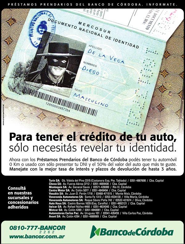 Banco de c rdoba cr ditos prendarios on behance for Banco cordoba prestamos
