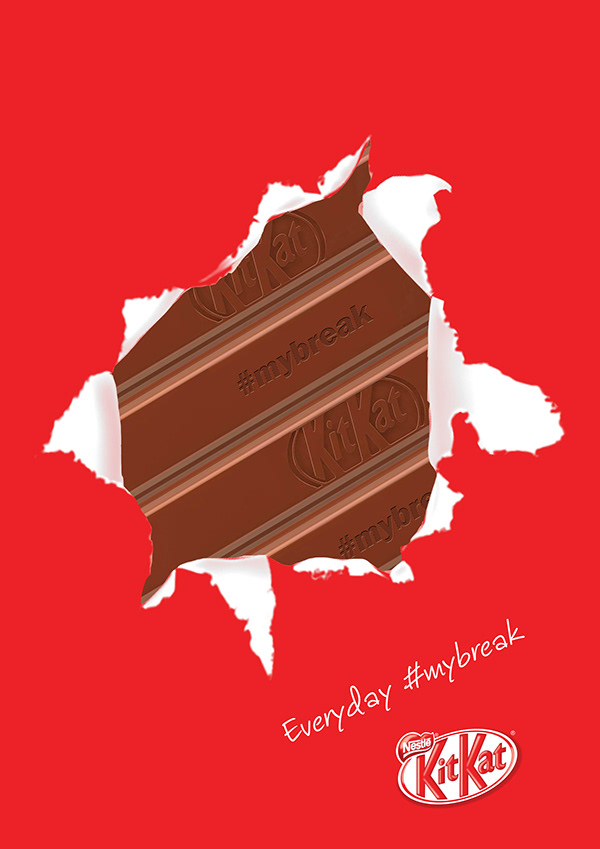 KitKat Ads on AIGA Member Gallery