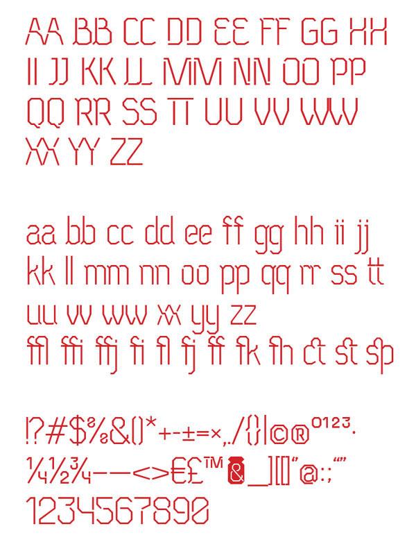 Free font neu eichmass ivan khmelevsky