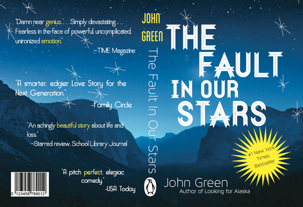 Book Cover Design Rubric ~ The fault in our stars book cover design imgkid