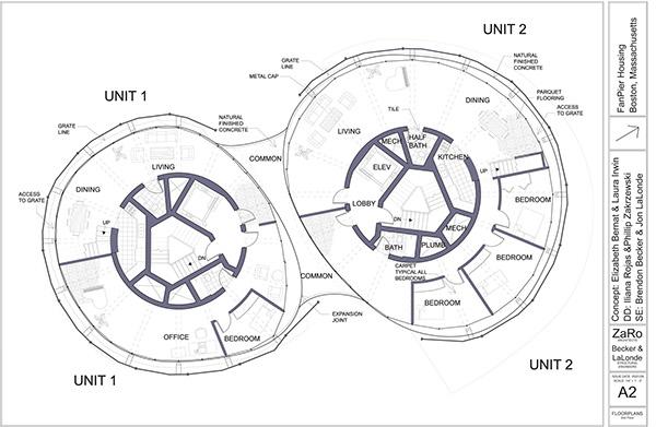 design development studio  fanpier housing on behance