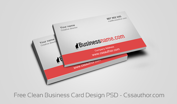 Business Card Templates PSD On Behance - Free business card templates for photoshop