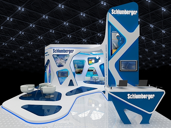 Exhibition Stand Design Sample : Suhlumberger on behance