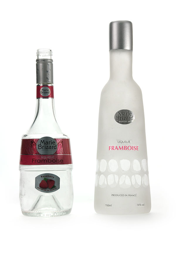 bottle  Fruit  frosted  opaque alcohol  swing tag  round  bottles  DRINK  re-brand  silver  simple  modern contemporary sleek