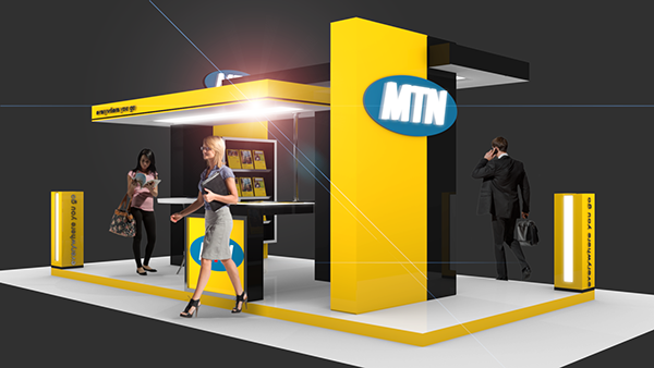 3d Exhibition Stand Design Software : Exhibition design mtn blender d on behance