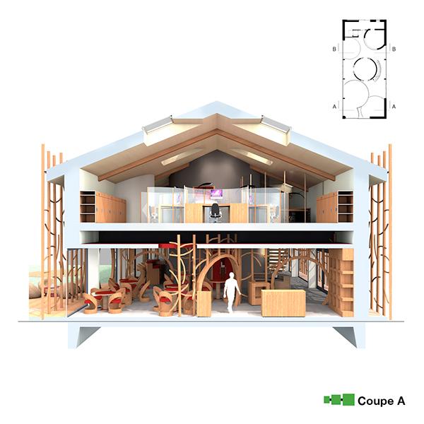 Interior  design architecture furniture designer winery containers