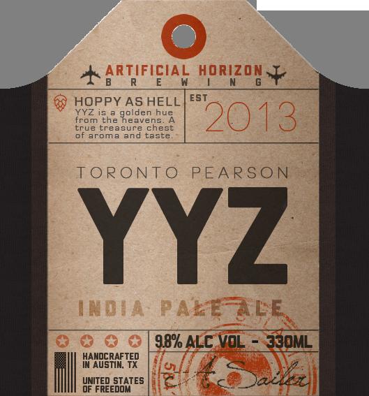 beer sixpack flight vintage luggage tag package design  bottle andrew sailer solarium creative artificial horizon alcohol Label label design