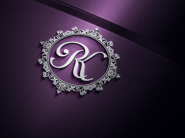 rk monogram on behance