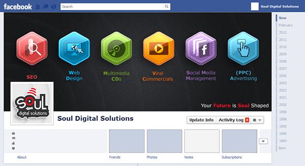 Facebook timeline covers on behance for Design ideas facebook