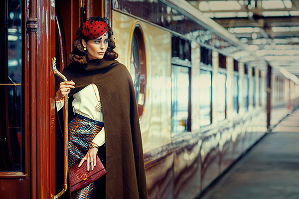 cover magazine train sergretouch bespoke CITY A.M color