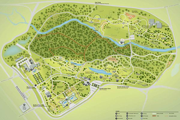 Garden Wayfinding Maps On Risd Portfolios