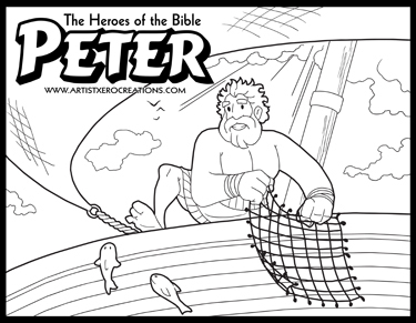 TheHeroes Of The Bible Coloring Pages Is A Personal Project I Started One Day And Have Yet To Stop Doing These Been Colored By Kids Around