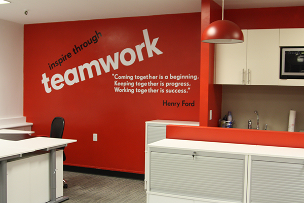 Wall Graphics For New Office On Behance