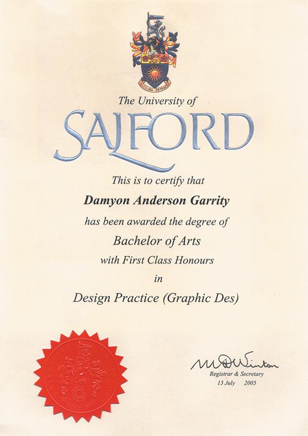 Salford University on Behance