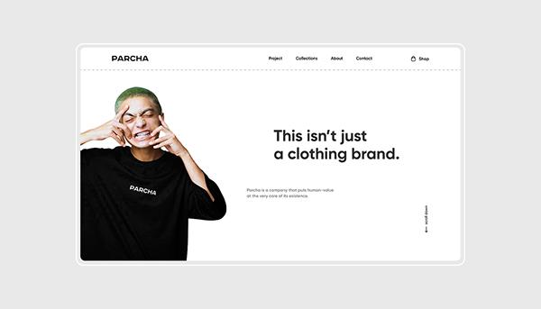 PARCHA / Website & Mobile Application Concept