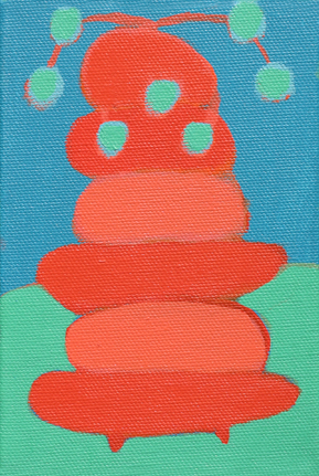 Stacks cupcakes Sorbet icecream party creatures antenna