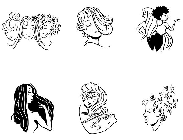 Logo Design: Design N\' Style Hair Salon on Behance