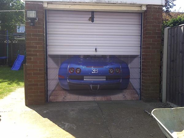 Garage Door Wrap On Behance