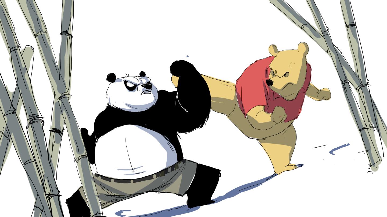 Kung fu panda tv series sign multiple pre