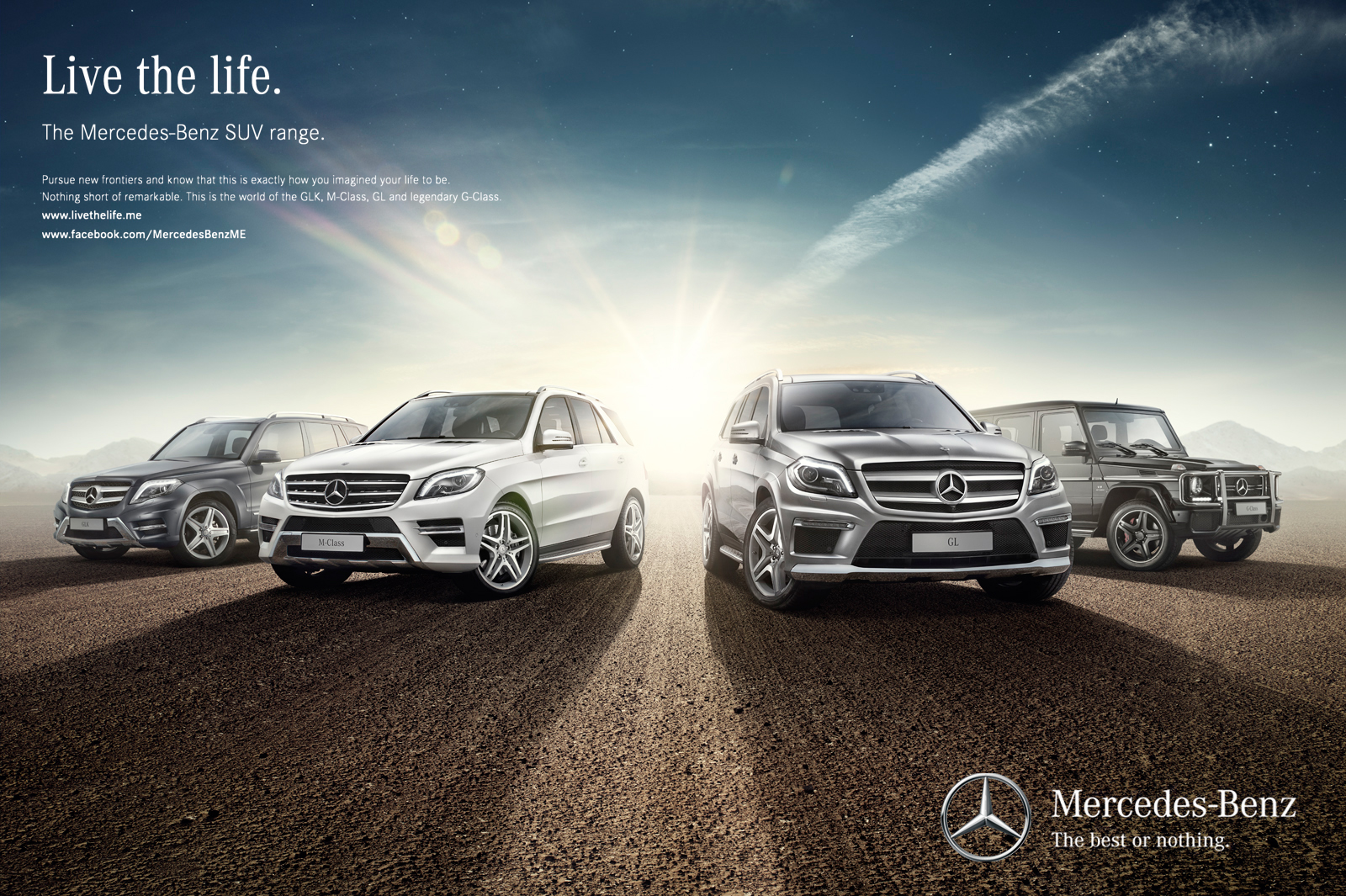 Mercedes Benz Suv Cars Campaign On Behance