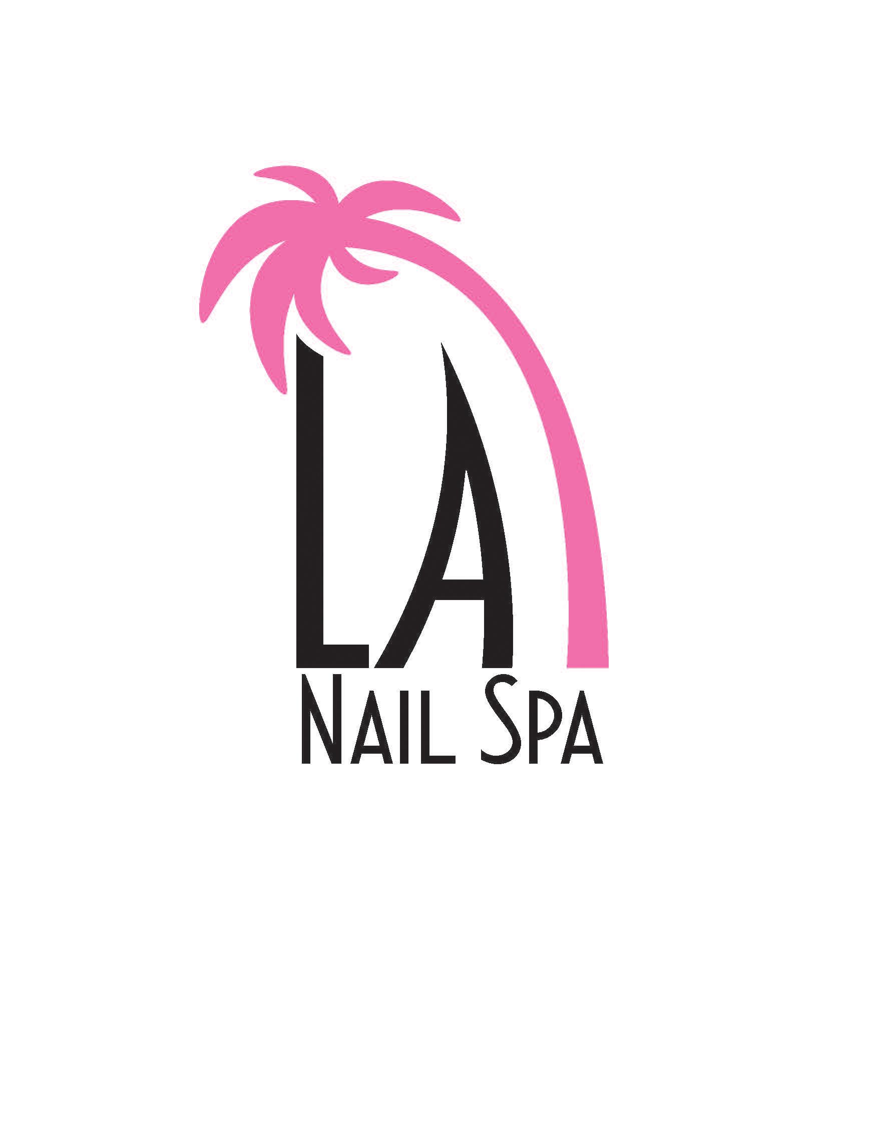 La Nail Spa Logo Design On Behance