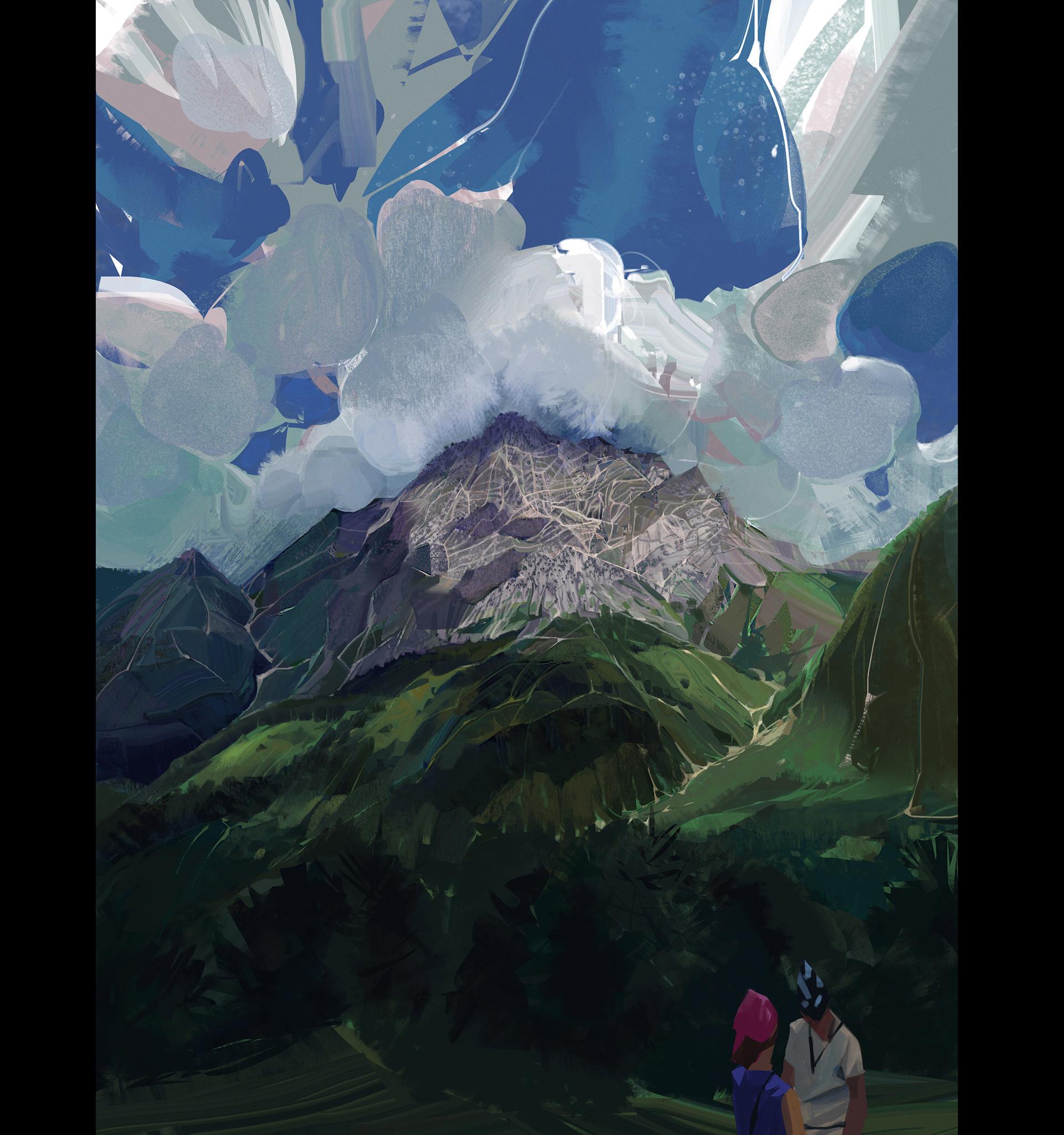 The Georgia Paintings by Rinat Khabirov