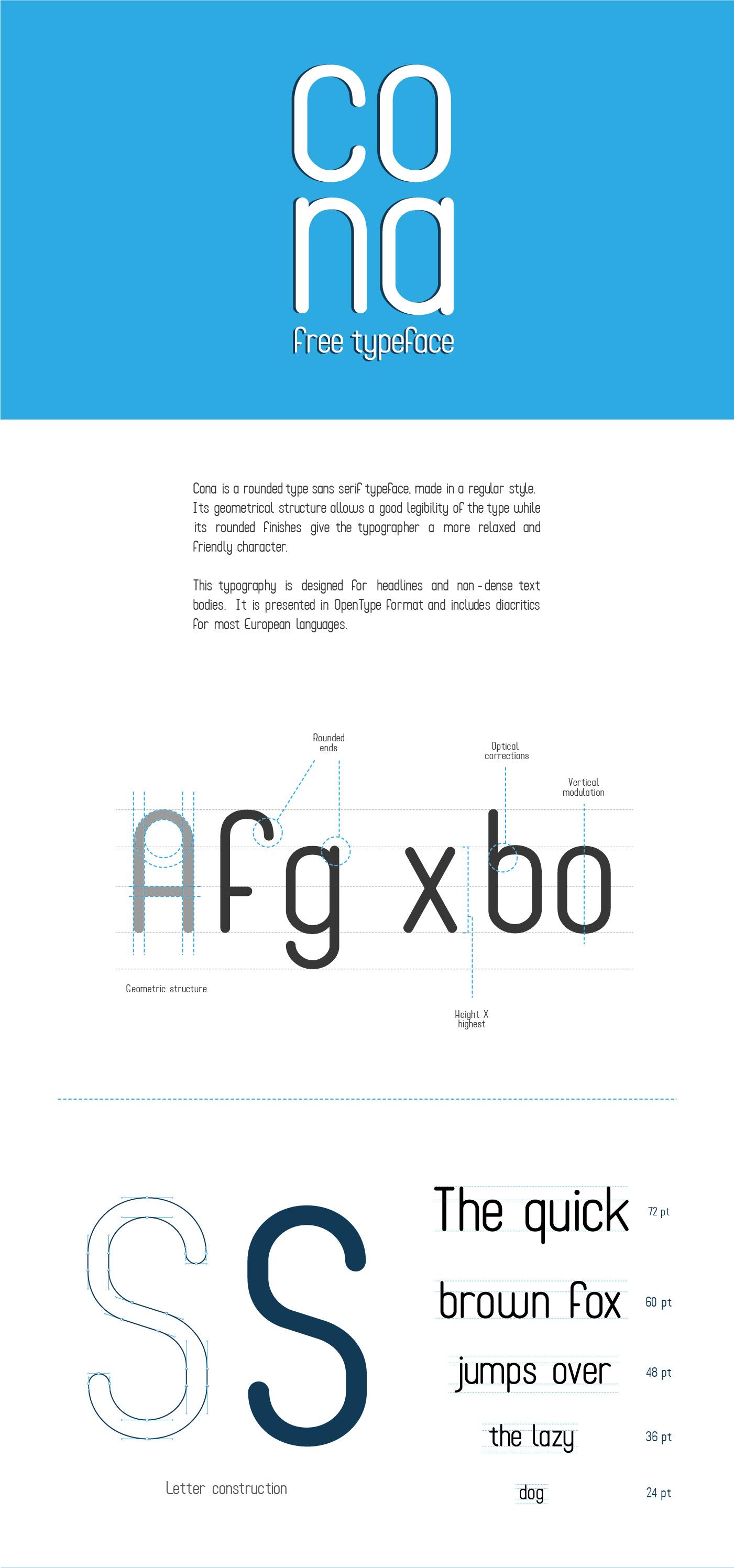 Cona lettertype