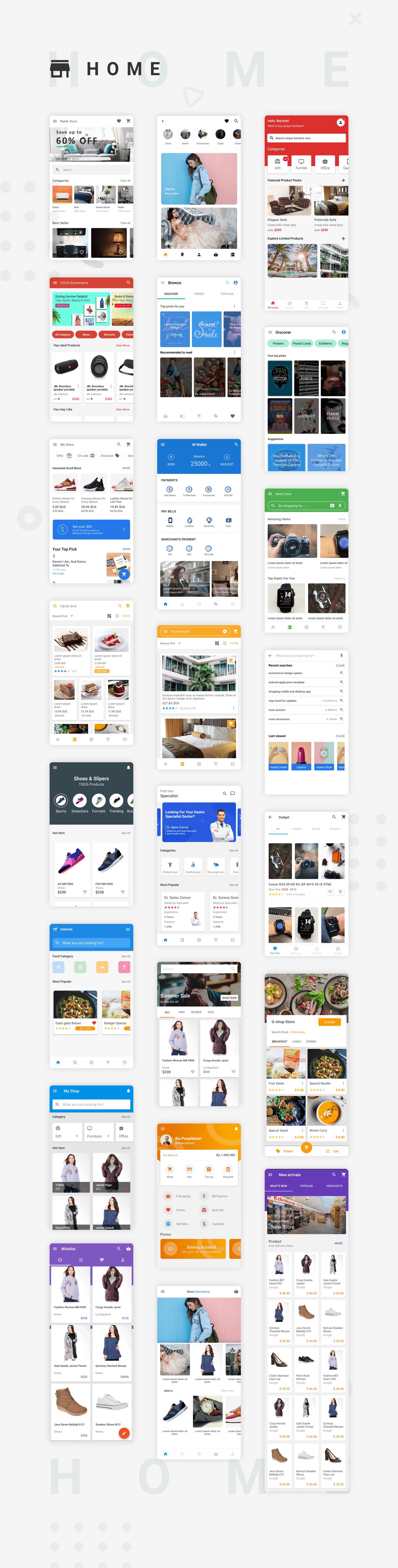 EcommerceX - Premium Ecommerce App UI Kit Template 1.0 - 1