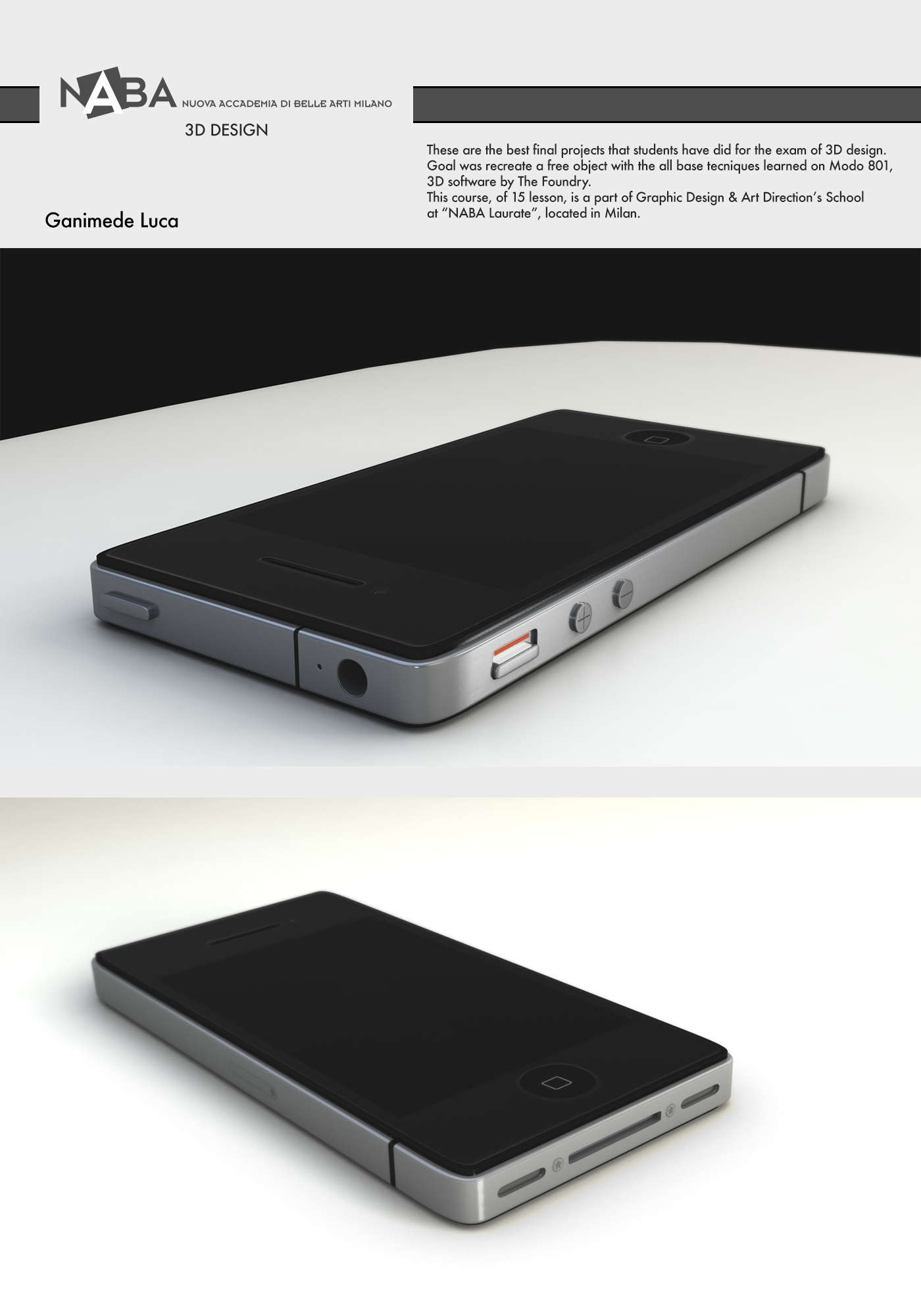 NABA Student's Projects 2014/2015 on Behance
