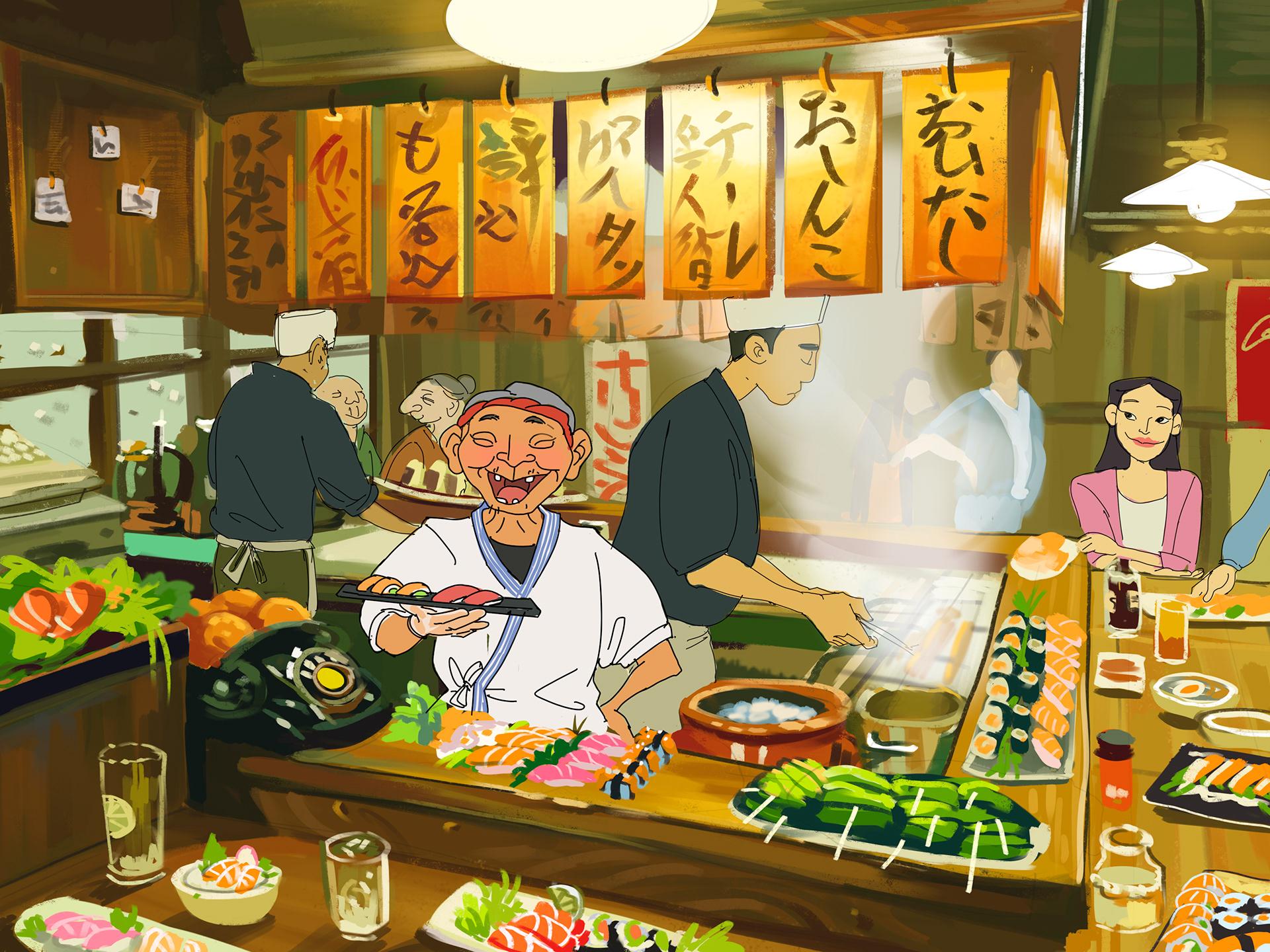 Gastronomy art