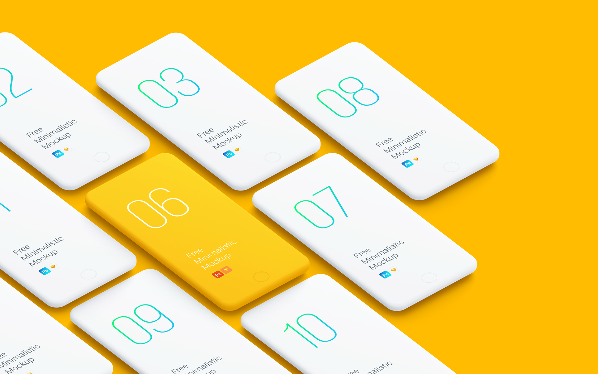 Free Phone Mockup for your next Presentation