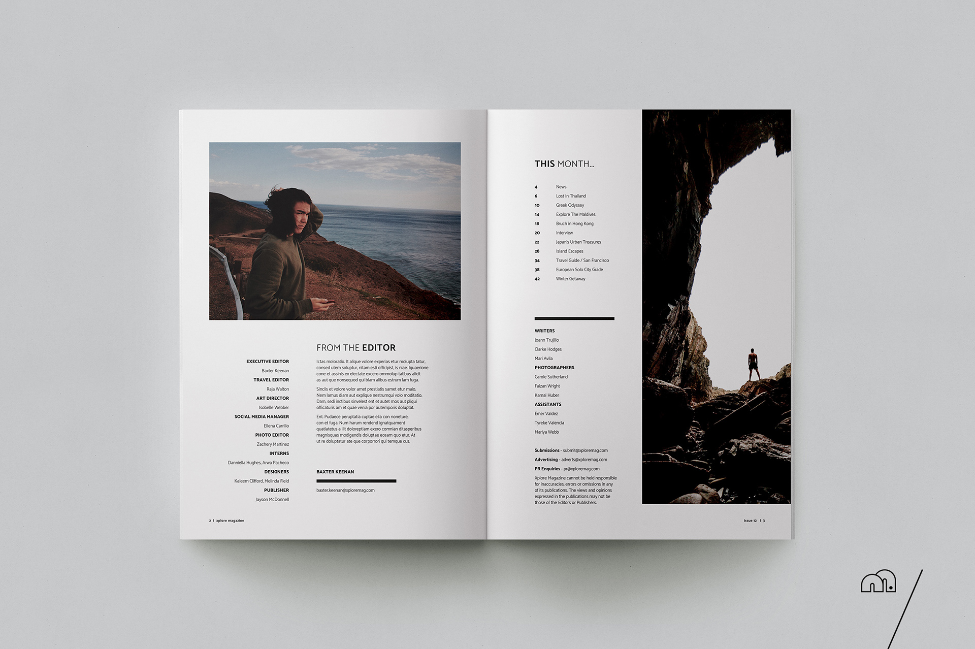 Xplore - Travel Magazine on Behance