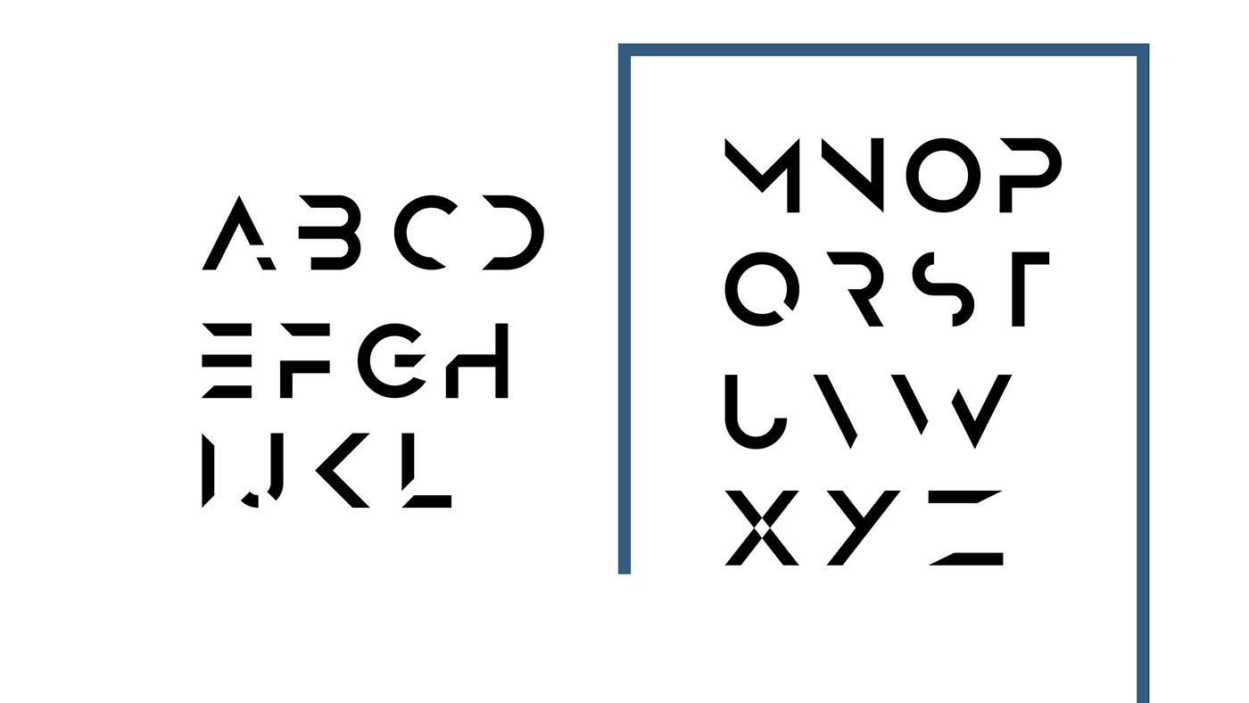 ANURATI: A free futuristic font on Behance