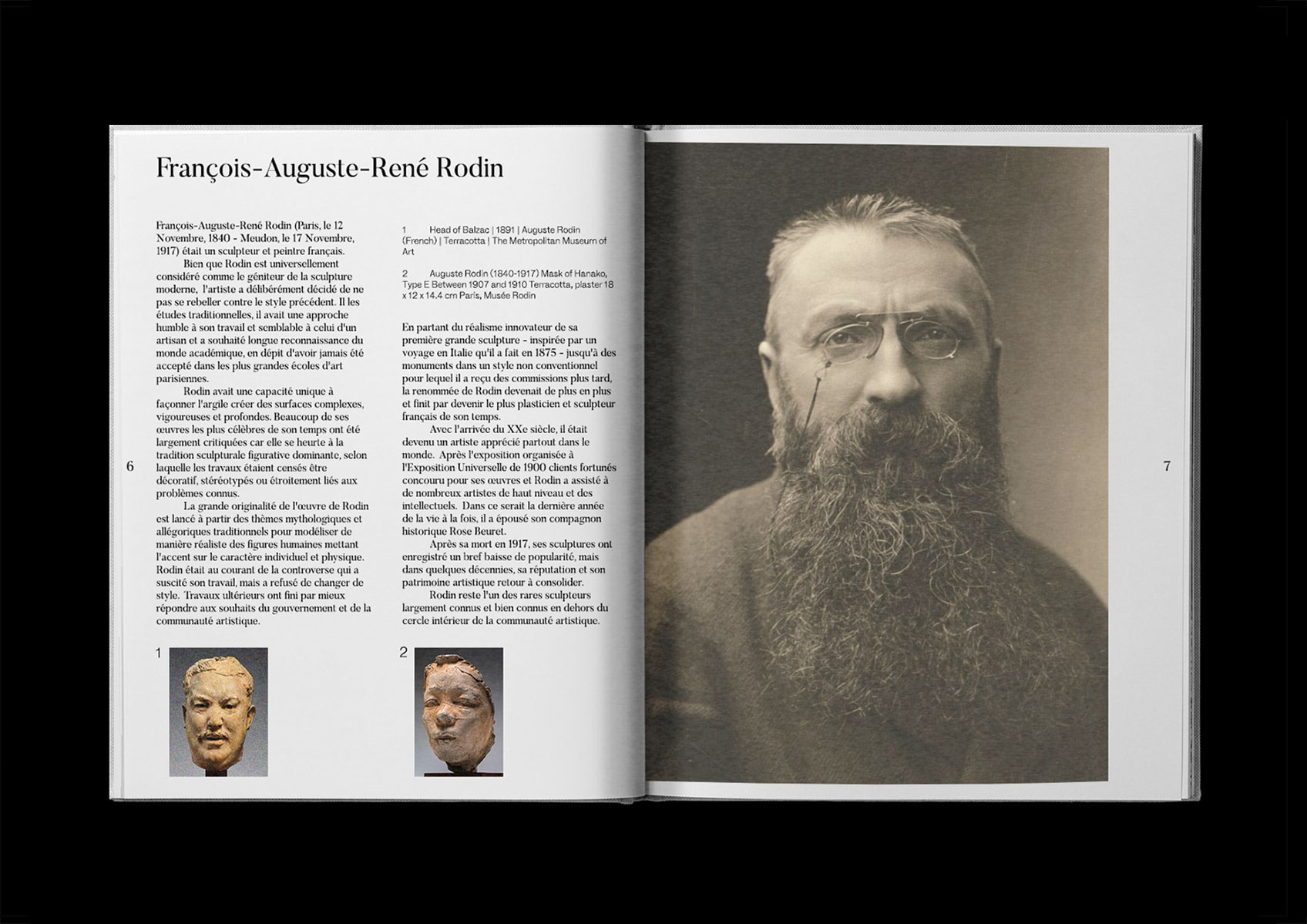life timeline of auguste rodin essay Read this biographies essay and over 88,000 other research documents auguste rodin auguste rodin was born in 1840 and died in 1917, a year before the end of world war i.
