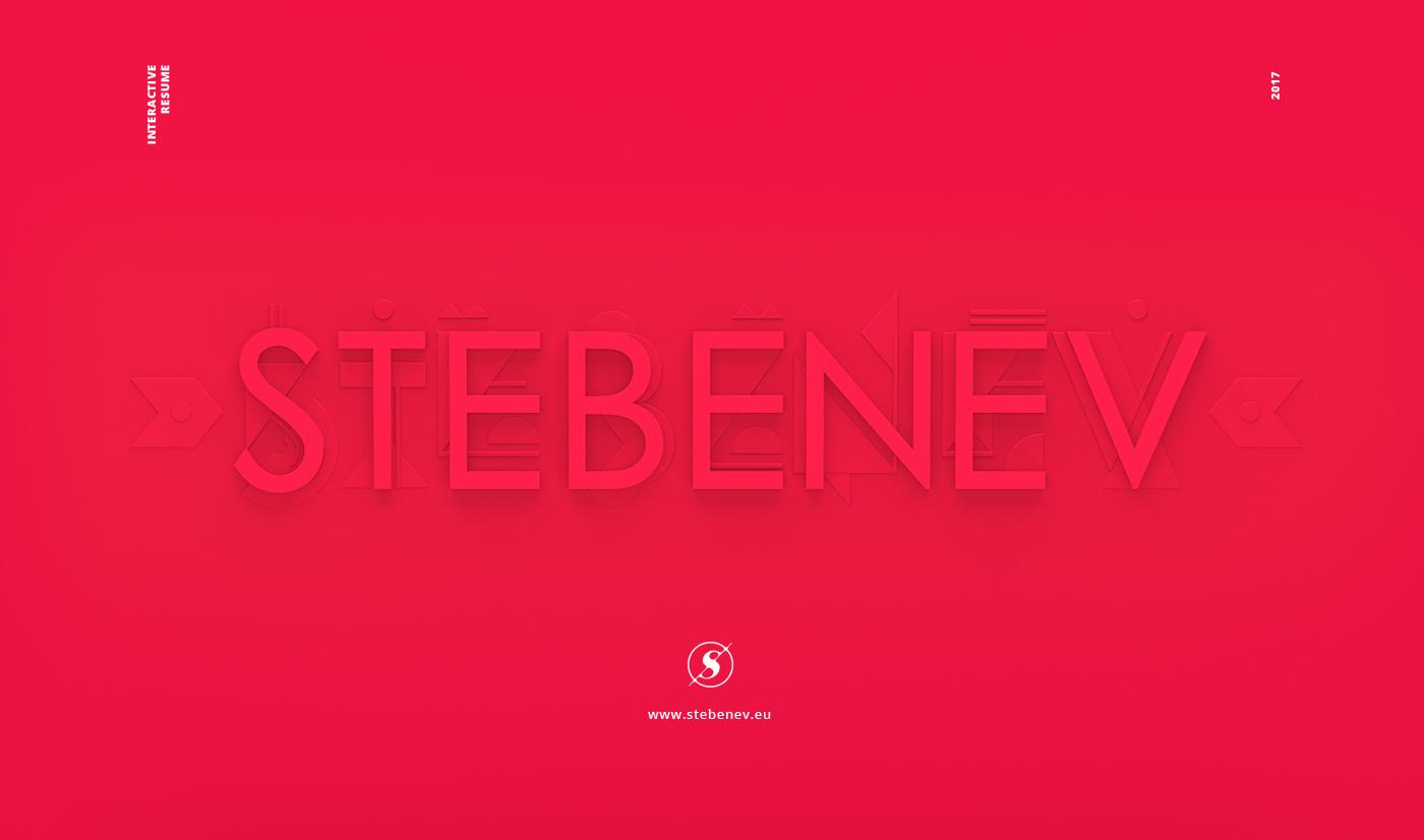 wwwstebeneveu - Interactive Resume