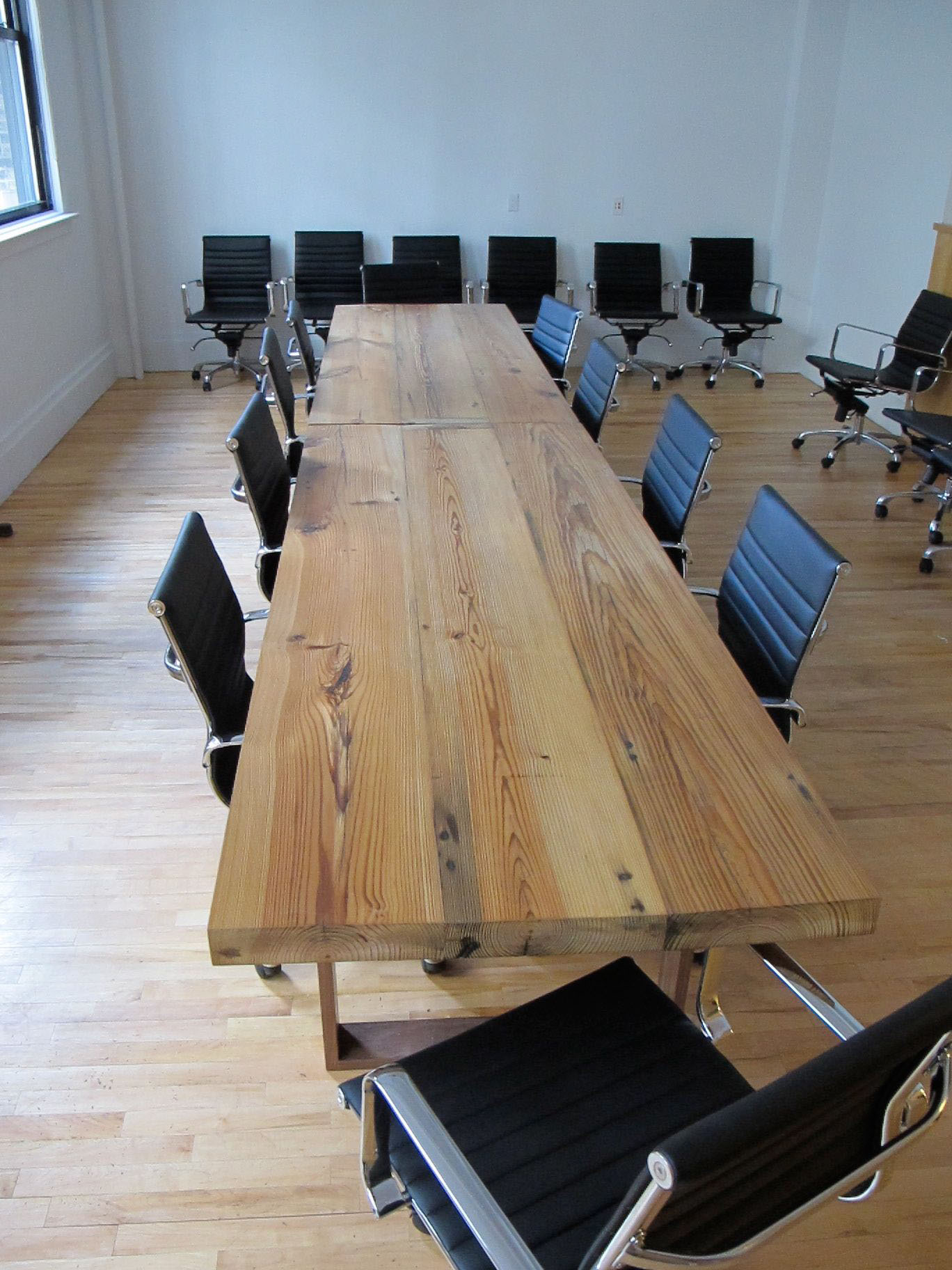 Maiden Brooklyn Design And Build Construction Ish Conference Table - Build a conference table