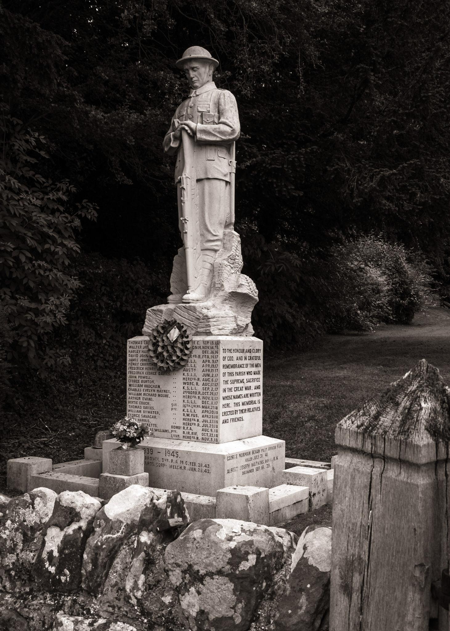 World War I Memorial, Dilwyn, Herefordshire, England
